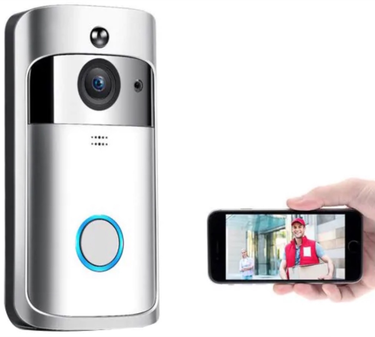 Video Doorbell V5, il videocitofono Smart che si controlla da iPhone e Android