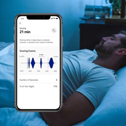 Withings Sleep, il tappetino Smart per il sonno
