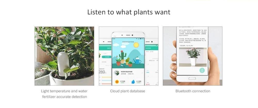 """Da Xiaomi ecco il """"giardiniere"""" smart: un sensore per aiutarvi con le vostre piante"""
