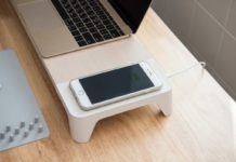 XtremeMac, lo stand per monitor con ricarica wireless