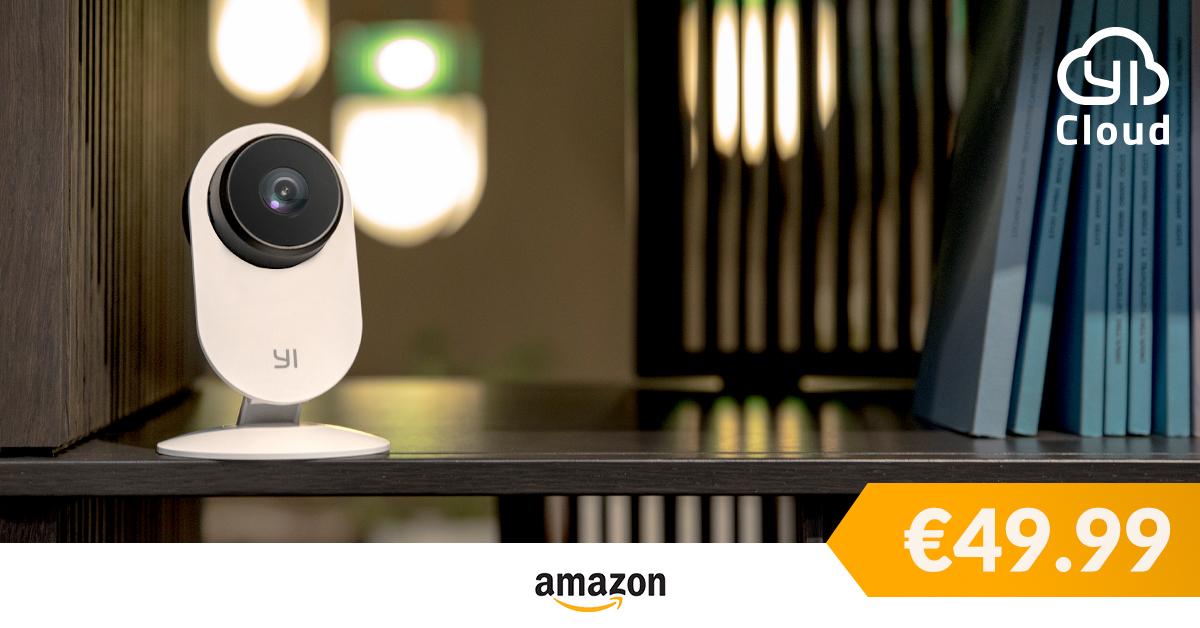 YI Home Camera 3 arriva su Amazon, la sicurezza di casa low cost