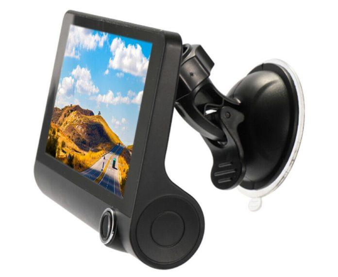 Specchietto retrovisore elettronico con doppia dashcam a soli 25,99 euro