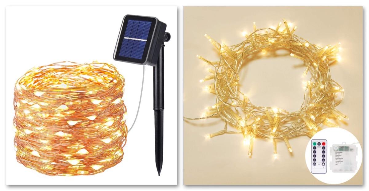 Catene di luci LED per esterni OxyLED in sconto a partire da 8,99 euro