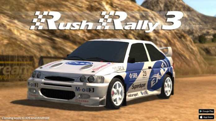 Rush Rally 3, il miglior simulatore di rally per iOS e Android