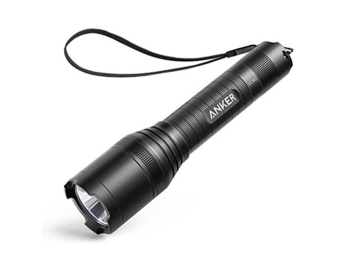 Anker LC90, torcia LED con batteria ricaricabile in sconto a 25,49 euro