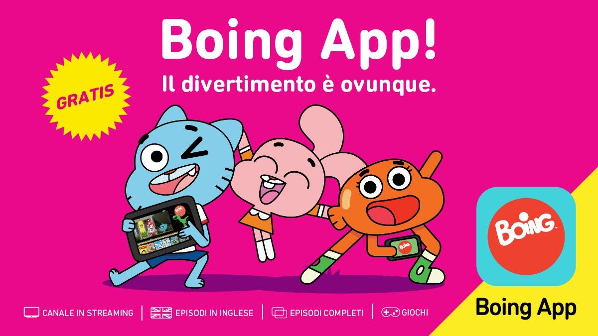 Mettete i cartoni preferiti dai bambini su smartphone e tablet con BoingApp