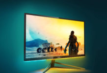 Philips Momentum 326M6VJRMB, il display 4K per gaming con Ambiglow