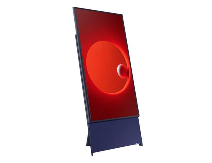 Samsung The Sero, la TV si fa verticale per i video registrati con lo smartphone