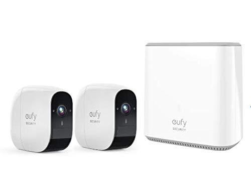 Telecamere di sicurezza Eufy Security in sconto di 60 euro su Amazon, impermeabili a fino ad un anno di autonomia