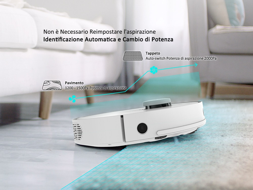 360 S5 Robot, l'aspirapolvere smart super silenziosa in offerta a 270 euro