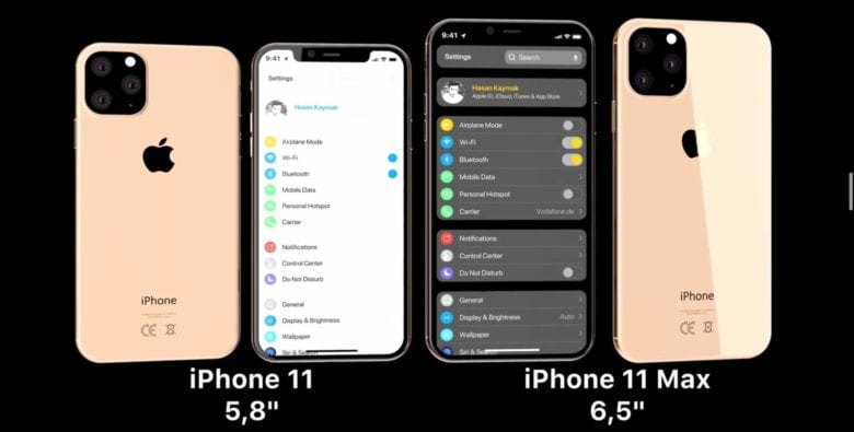 iPhone 2019: in un video le novità di iPhone XI e XI Max