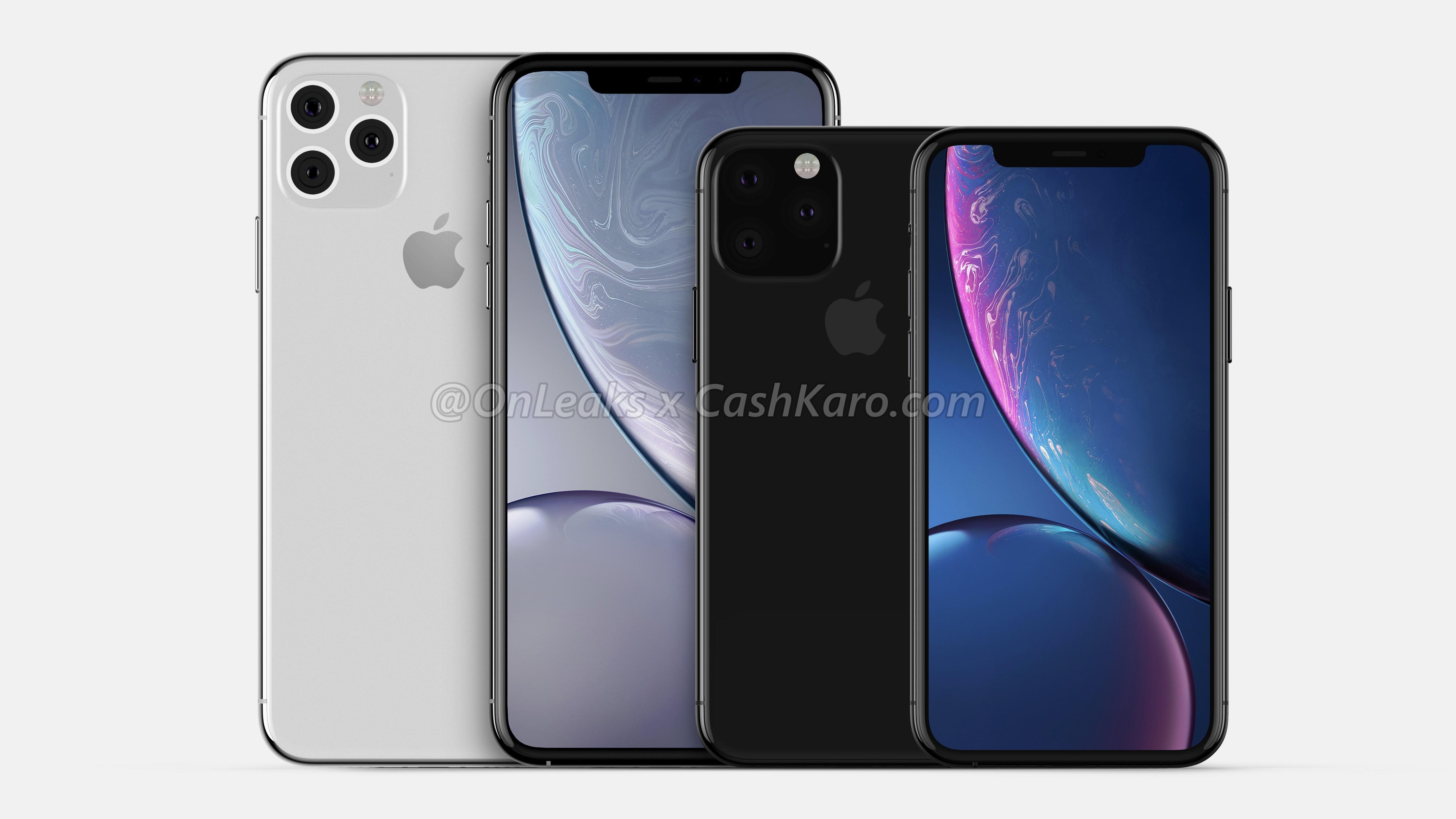 iPhone 2019, il tasto mute sembra simile a quello dei vecchi iPad