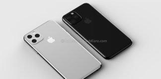 Rendering degli iPhone XS del 2019