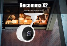 Gocomma X2, la camera di sicurezza 1080P che ha classe e costa pochissimo