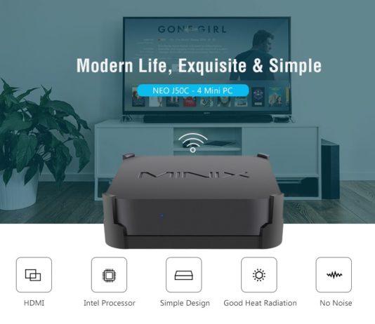 Minix NEO J50C, il re dei mini PC Windows in offerta a 351 euro