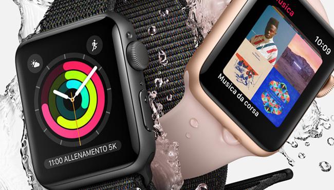 Su Amazon Apple Watch 3 a partire da 278 euro