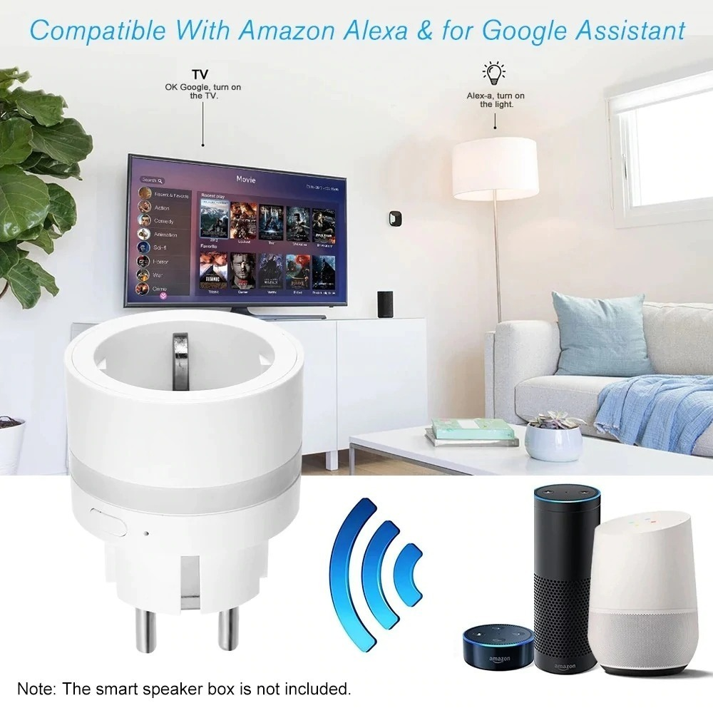 Bilikay SP10, solo 10 € la presa smart luminosa compatibile con Alexa e Assistente Google