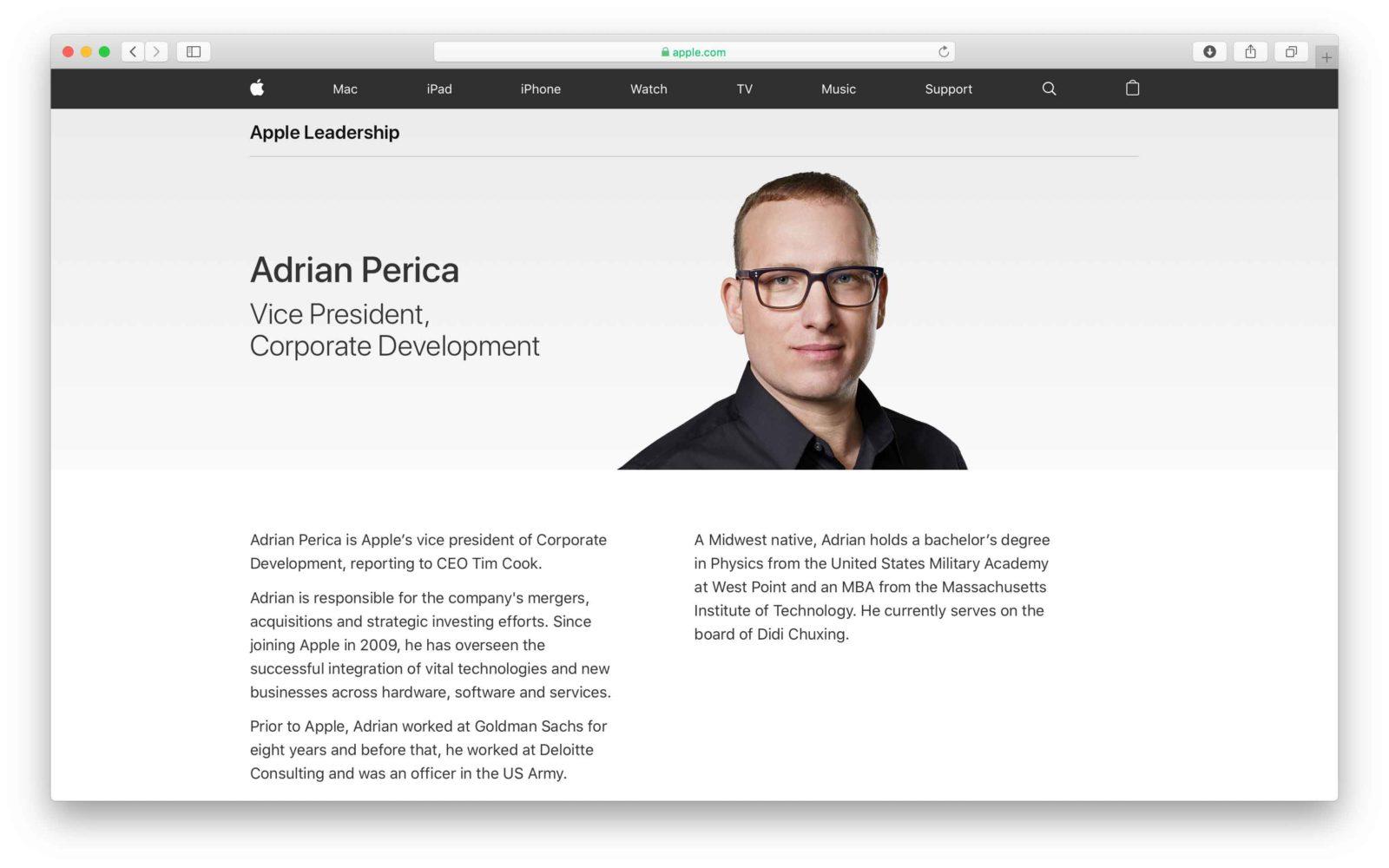 Biografia Adrian Perica