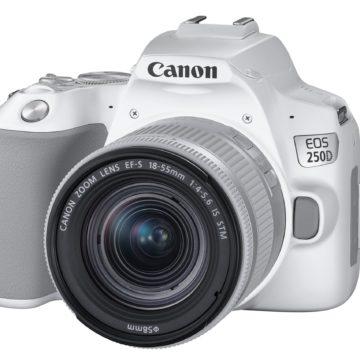 Canon presenta EOS 250D, la reflex con schermo orientabile più leggera al mondo