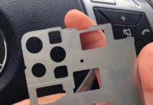 iPhone 2019, nuova foto dello chassis mostra fori per tre fotocamere