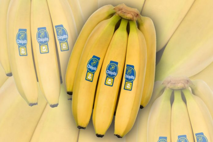 Il bollino blu Chiquita ora usa la tecnologia Snapchat