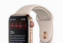 Quando si tocca la corona digitale, il circuito si chiude e vengono misurati i segnali elettrici che attraversano il cuore.