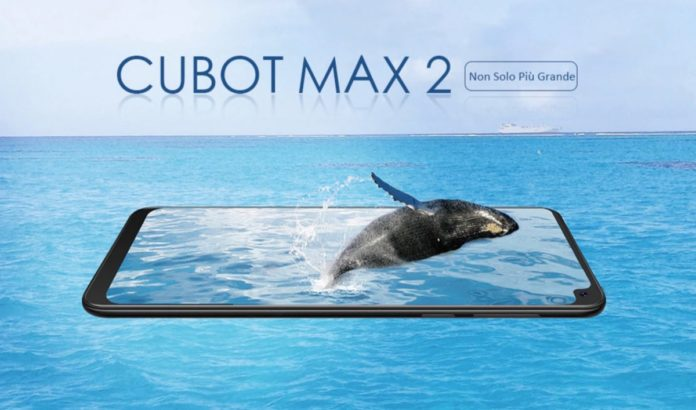 Cubot Max 2, lo smartphone con il notch all'angolo