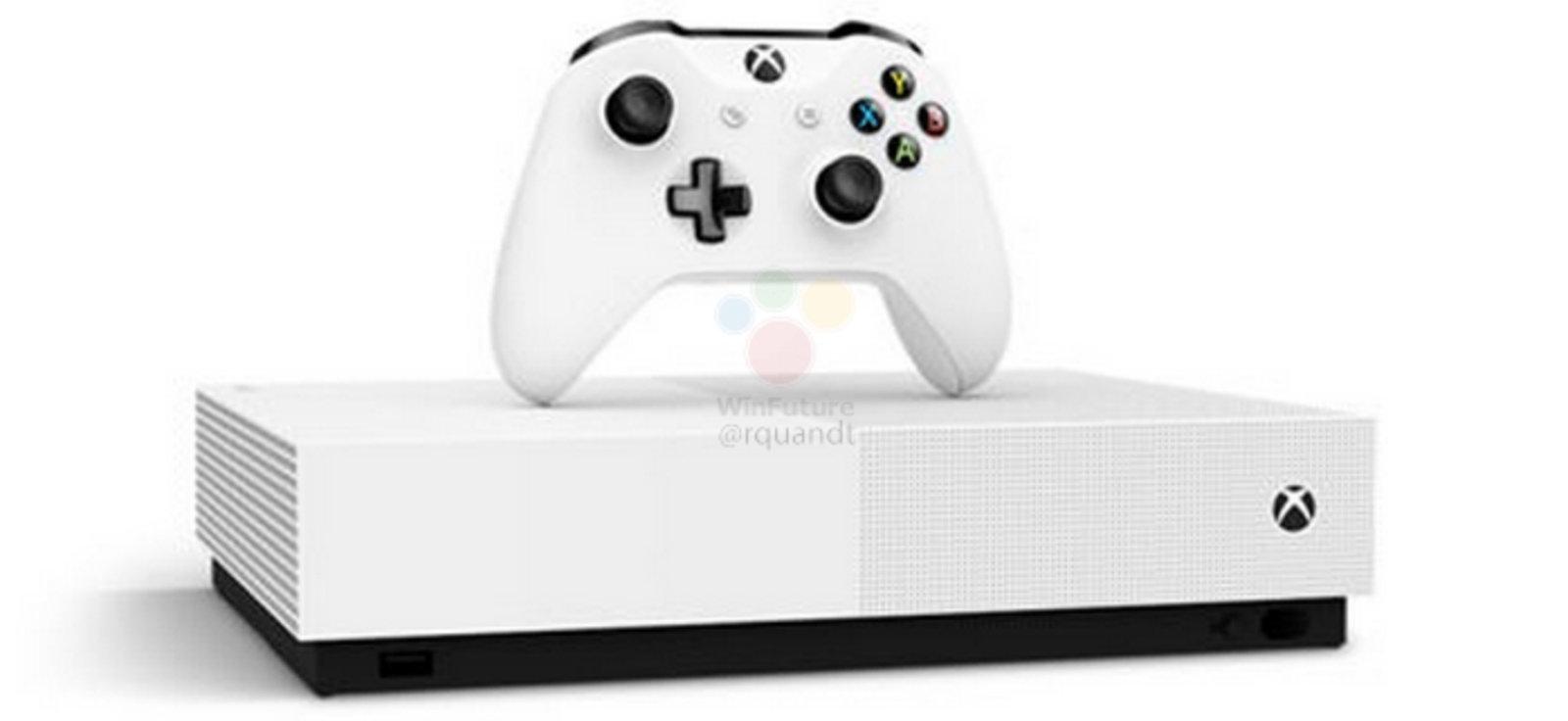 Ecco la nuova Xbox One senza dischi