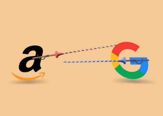 Pace fatta tra Amazon e Google