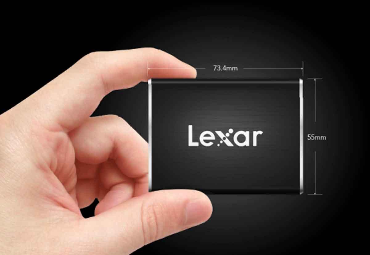 Unità SSD portatile di Lexar