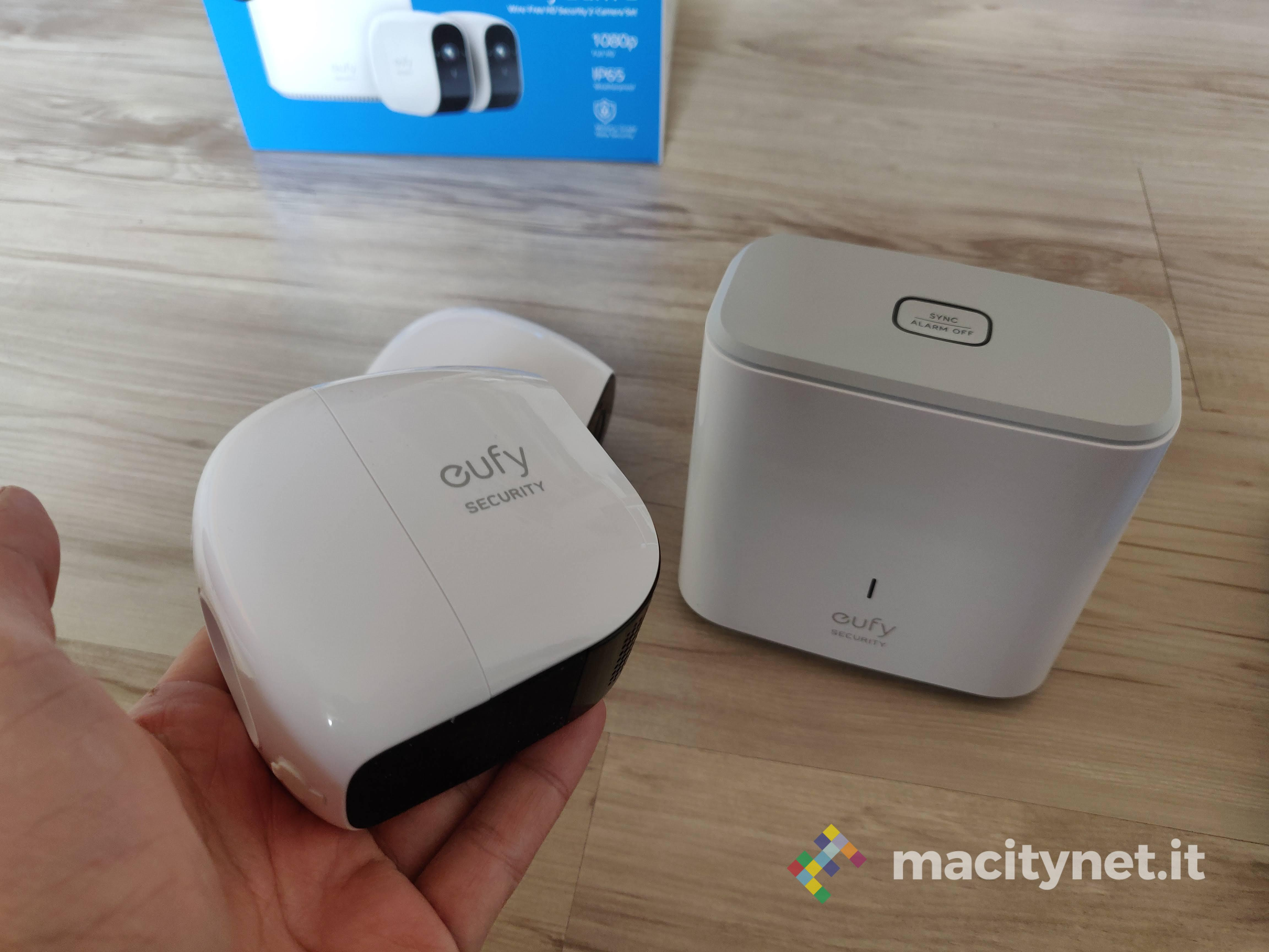 Recensione Eufy Security, il sistema di videosorveglianza domestica dall'autonomia infinita