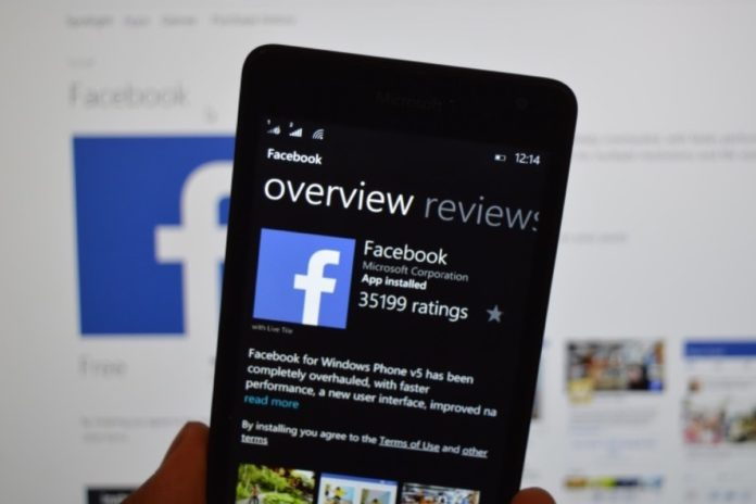 Le app di Facebook per Windows Phone saranno eliminate il 30 aprile