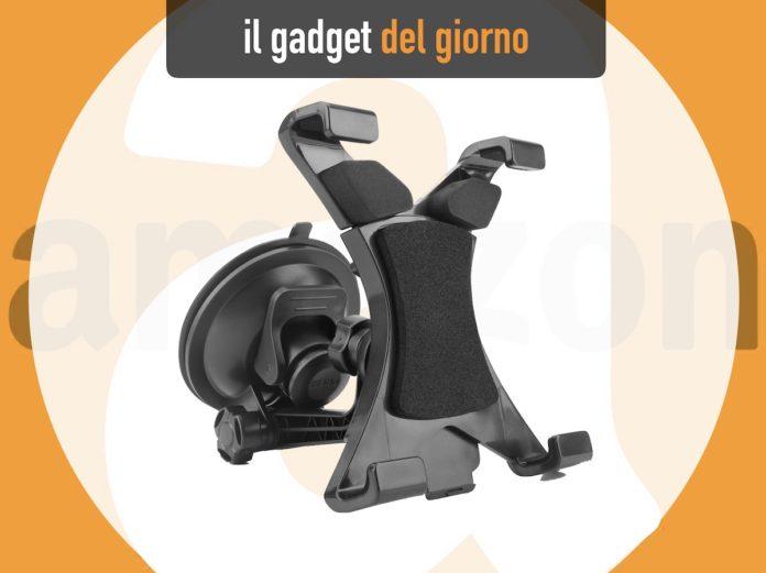 Supporto da cruscotto per iPad per navigazione GPS, musica e servizi auto