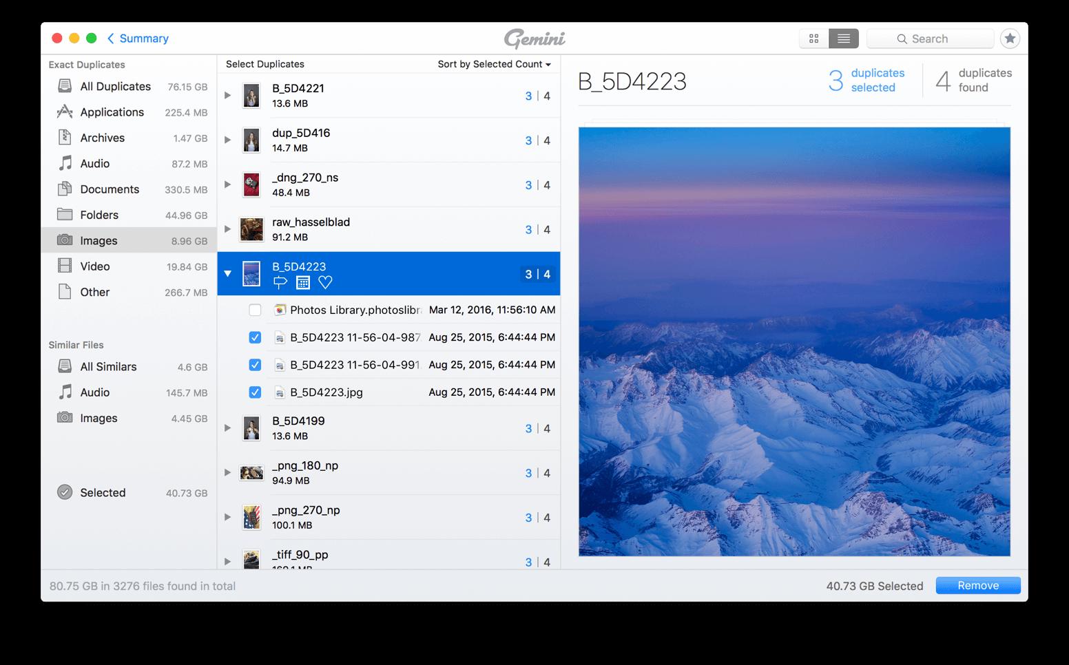 Liberatevi dai file doppi sul Mac con Gemini