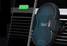Gocomma C8, il supporto smartphone per auto con ricarica wireless