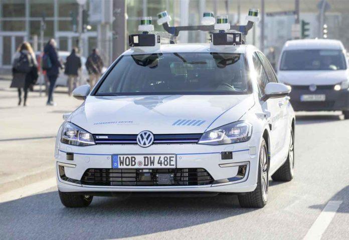 Guida autonoma Volkswagen