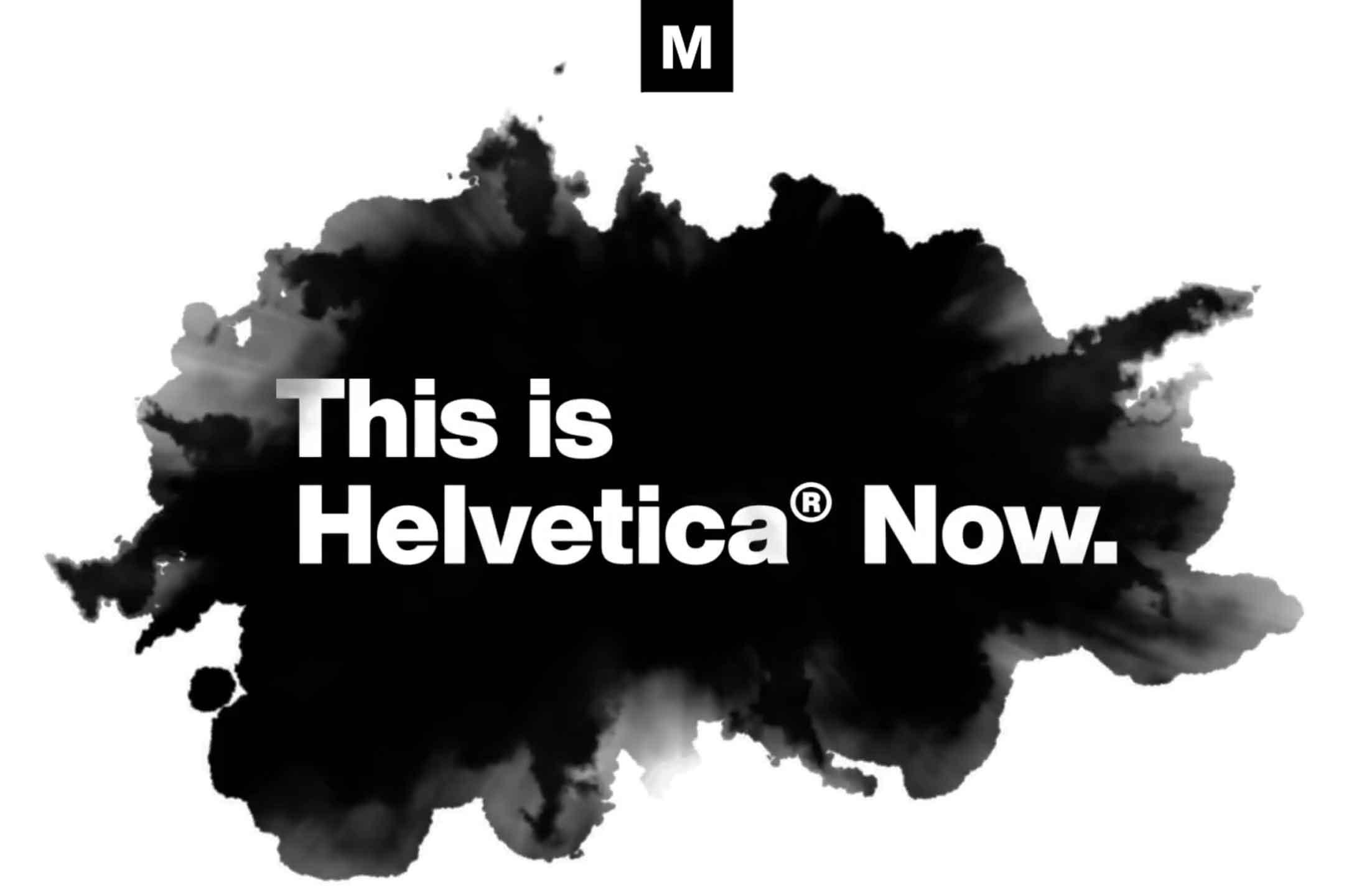 Helvetica Now, la versione moderna e rivista del font Helvetica