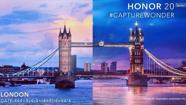 Honor 20 arriva il 21 maggio: la società promette fotografie impressionanti