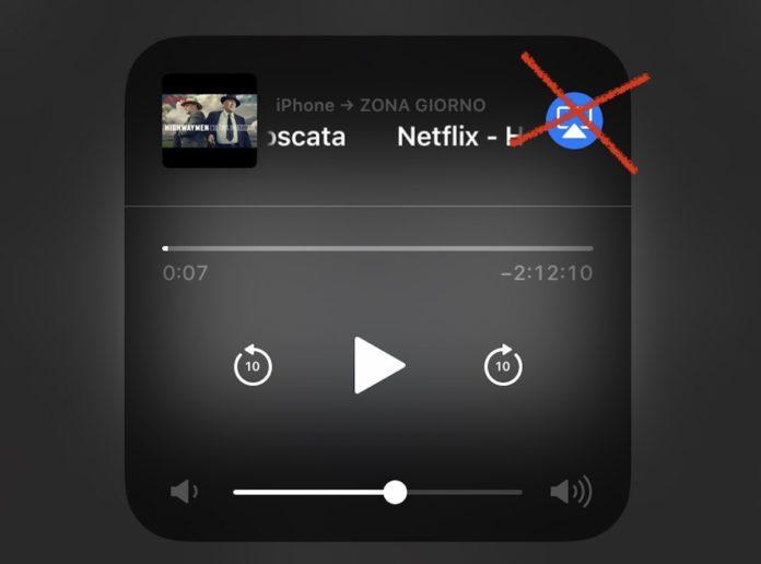 """Netflix elimina il supporto AirPlay per imprecisate """"limitazioni tecniche"""""""