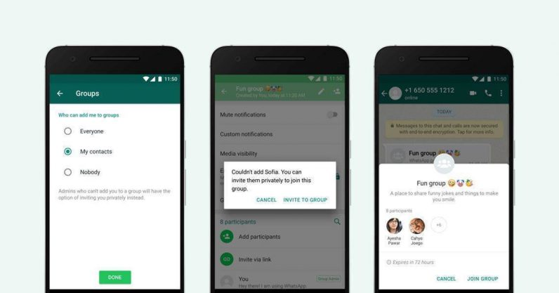 finalmente potrete opporvi ai gruppi selvaggi di WhatsApp