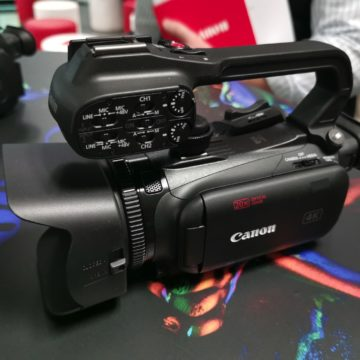 Da Canon tre nuove videocamere compatte XA per video in 4K UHD per l'ingresso nel mondo pro