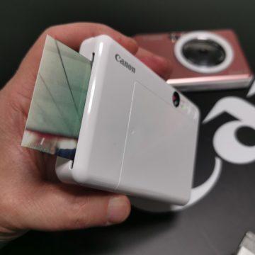 Le nuove instant camera di Canon Zoemini S e C aggiungono colore e versatilità anche per i selfie
