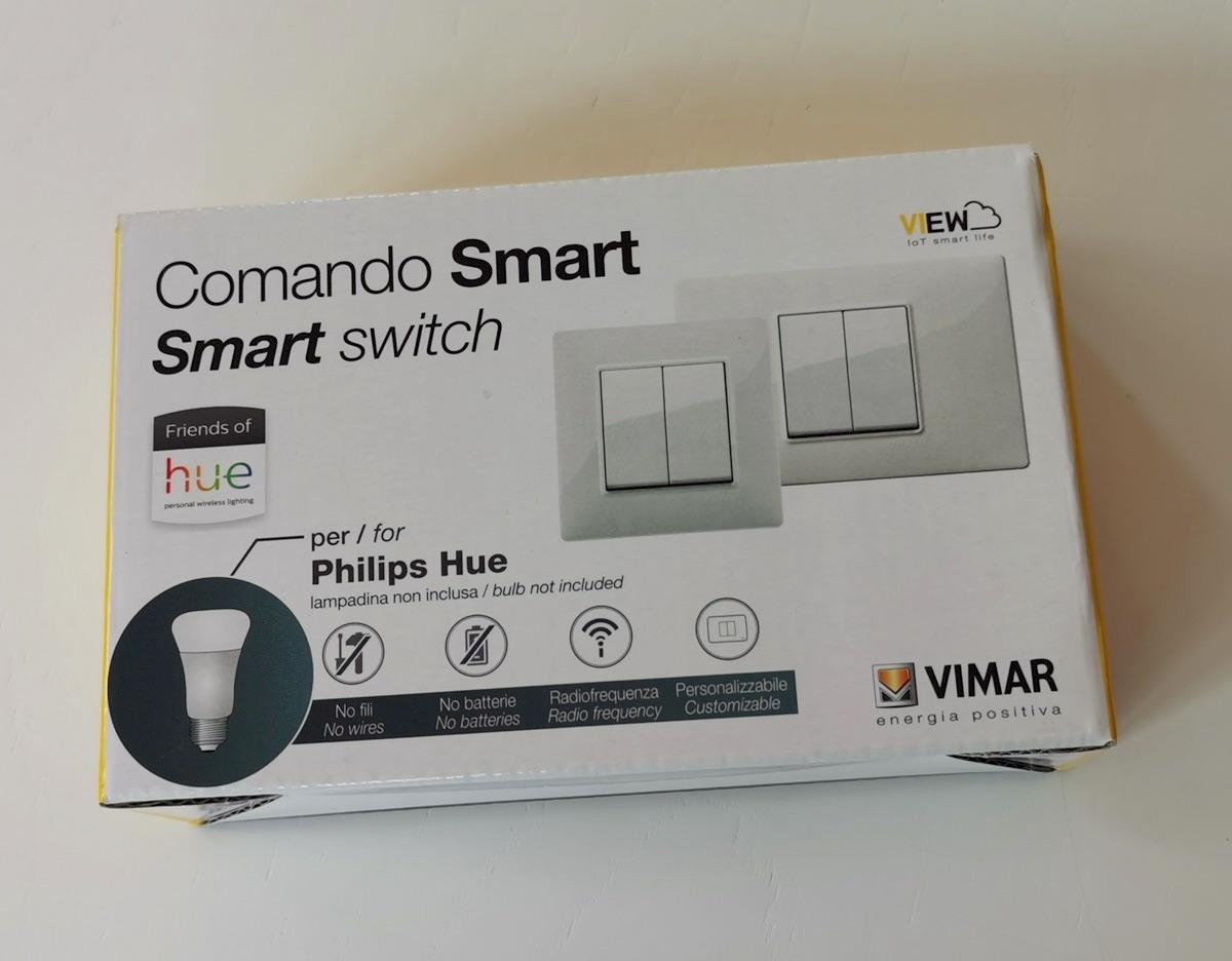 Recensione Vimar Comando Smart Friends of Hue senza batterie