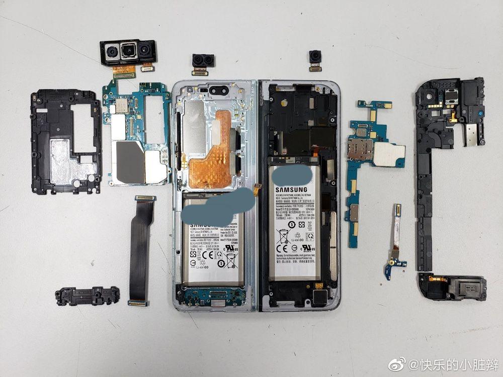 Problemi anche nella riparazione dello schermo — Samsung Galaxy Fold