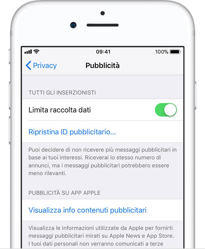 Mozilla, una petizione per esortare Apple a disattivar l'opzione di iOS che limita la raccolta dati pubblicitari