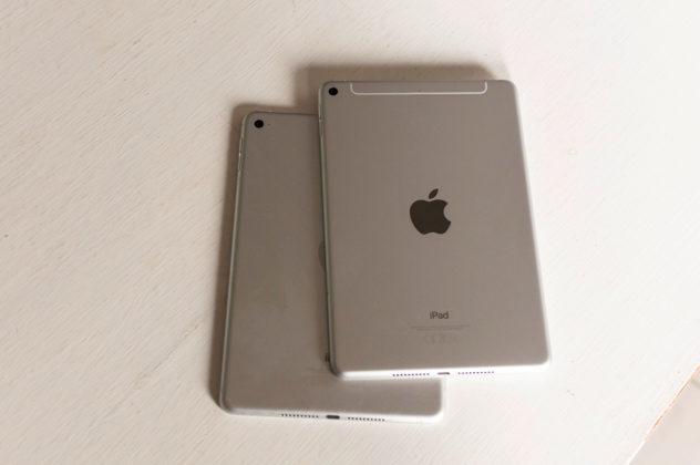 I due iPad non si distinguono