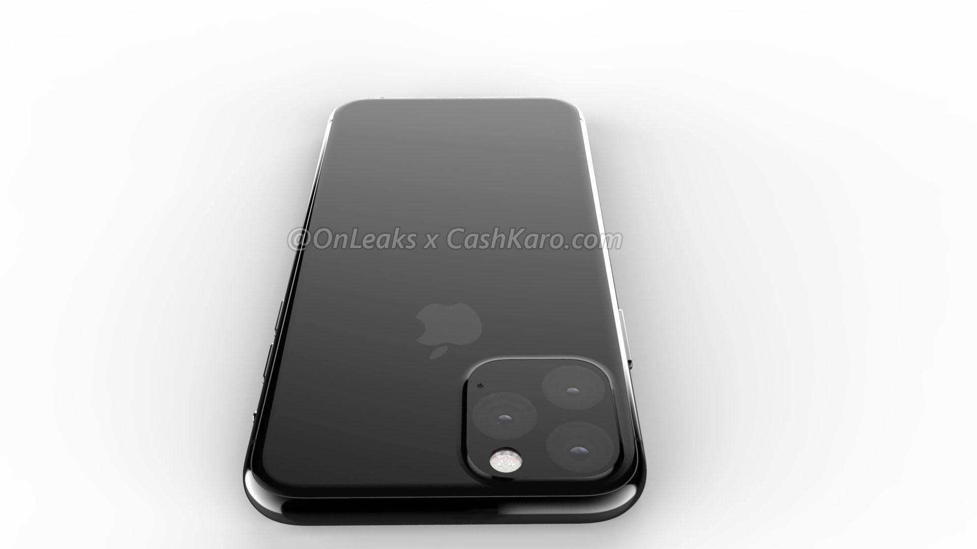 iPhone 2019 in un rendering