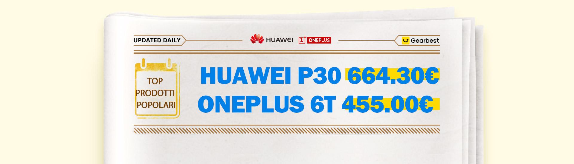 GearBest sconta i migliori marchi, da Xiaomi a Huawe e OnePlus