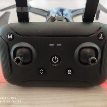 Recensione JJRC X7, il drone dall'assetto basso, con GPS e motori brushless