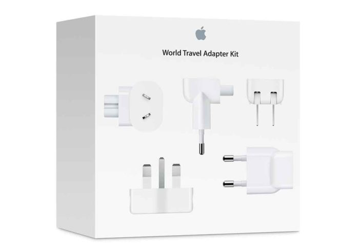 Apple richiama alcuni adattatori per la presa a muro CA e il kit di adattatori internazionali